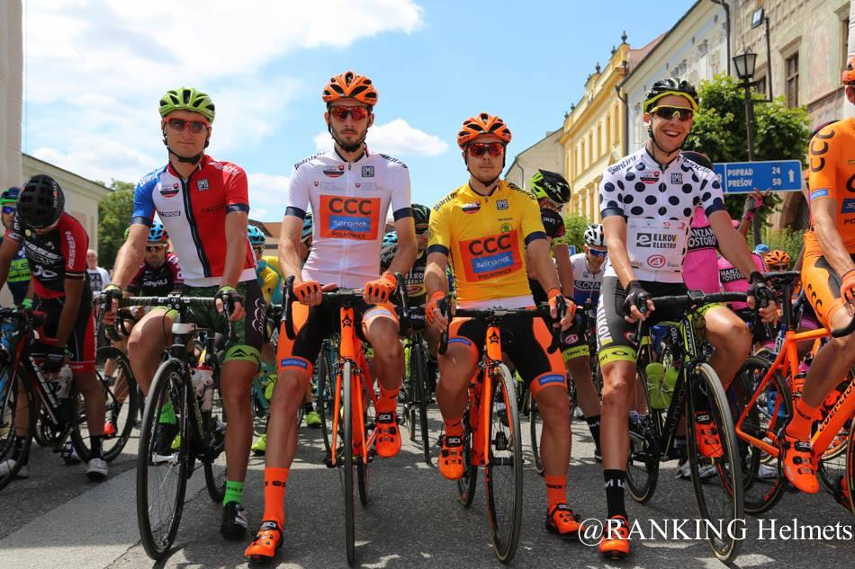 Patrik Tybor na štarte 1. etapy Okolo Slovenska 2017