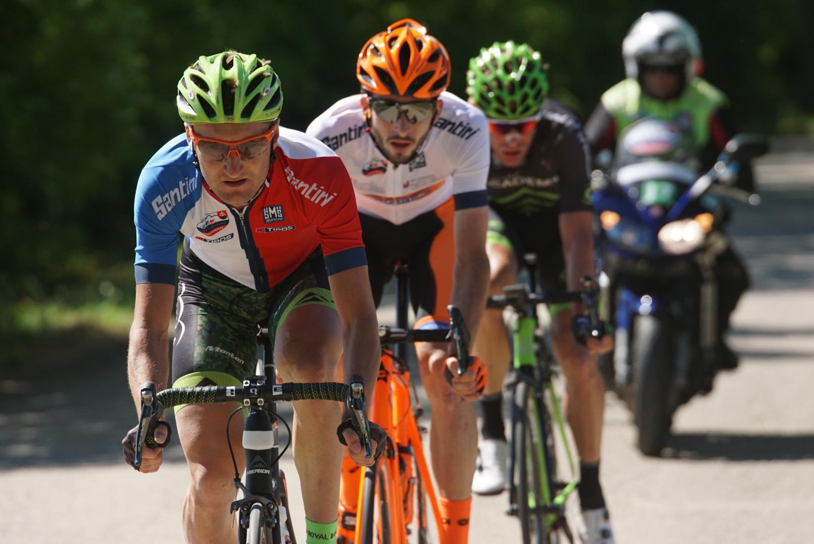 Patrik Tybor v poslednej etape pretekov Okolo Slovenska
